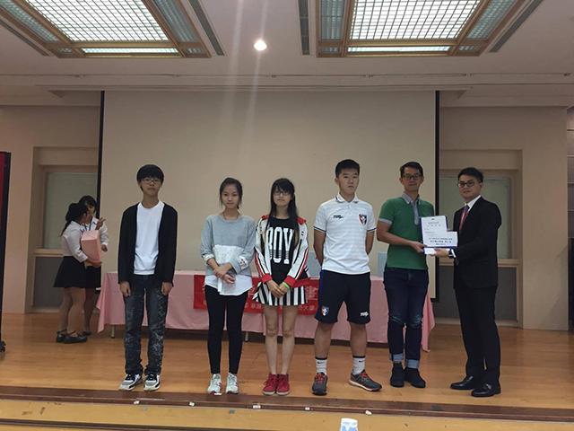 應用外語科同學參加2017年致理盃英日語廣播劇全國賽-高中職日語組,榮獲第二名!